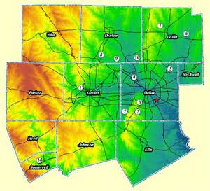 Elevation Tx Map Elevation
