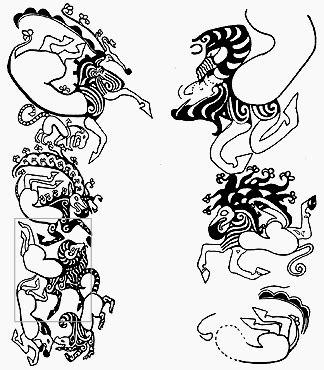 scythian tattoo designs scythian s ariets research