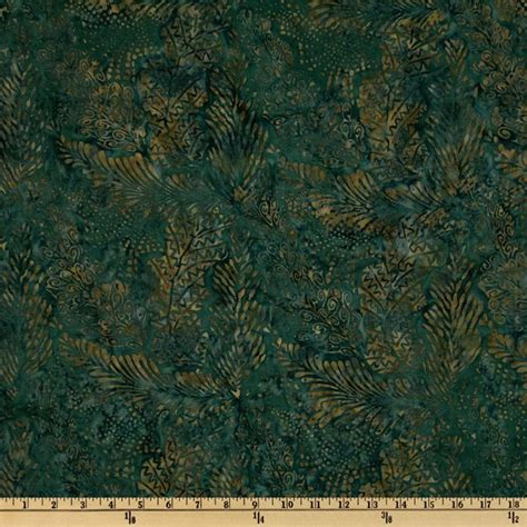 Batik Quilt Backing by 108 Wide Tonga Batik Quilt Backing Leaves Pine