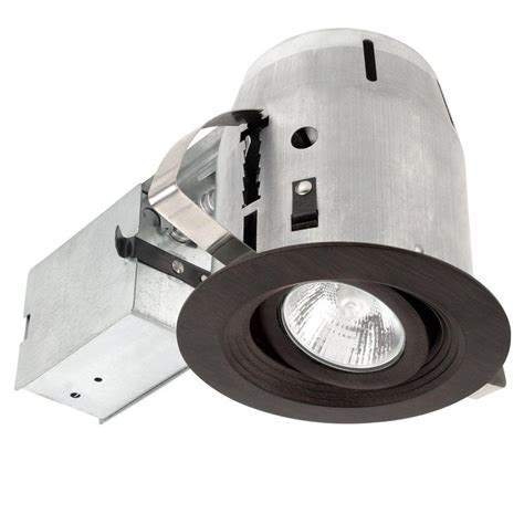 globe electric recessed lighting installation globe electric 4 in brushed nickel recessed shower