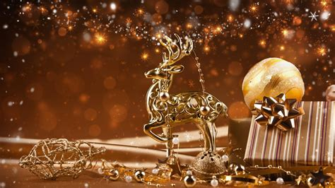 xmas wallpaper gold christmas backgrounds christmas holiday reindeer gold
