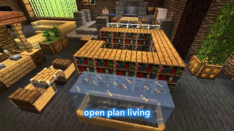minecraft interior house best minecraft house interior design tips 2016 youtube