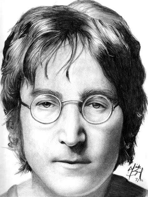 imagenes de john lennon en blanco y negro famosos dibujados muy buenos taringa