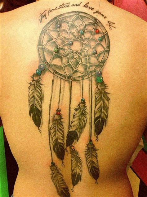 dream catcher tattoo sayings dream catcher tattoos with quotes quotesgram