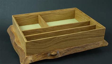 Handmade Jewellery Boxes Uk - handmade oak jewellery box by christie antiques