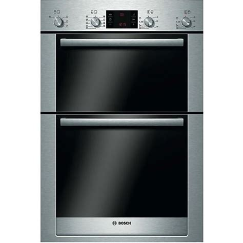 bosch hbmrb electric built  double oven brushed