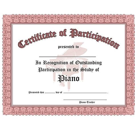 Talent Show Certificate Template by Talent Show Award Certificate Just B Cause