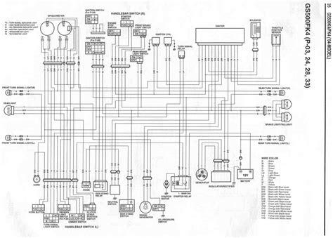 suzuki gs500 1991 wiring diagram 1991 suzuki 550 wiring