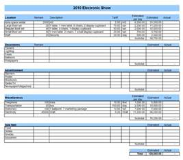 Event Planning Template Excel by Event Budget Template Excel Templates Excel