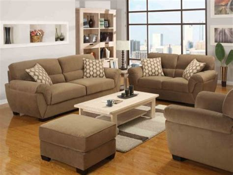 fashionable living room with fabric sofas by emerald home