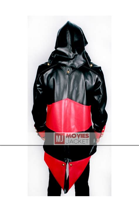 Hoodie Assassins Creed 3 black assassins creed 3 hoodie connor kenway jacket for sale