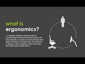 ergonomic design ergonomics and design youtube