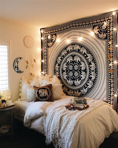 elephant bedroom c black white elephant parade mandala tapestry room bedrooms and shopping