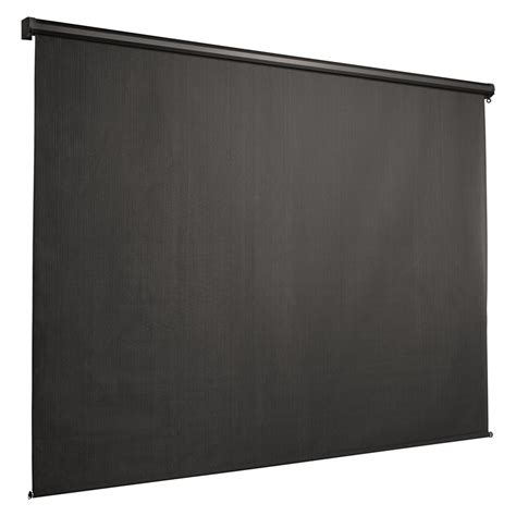 Outdoor Roller Shades Coolaroo 2440 X 2440mm Montecito Outdoor Roller Blind With