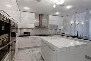 Silver Sconces For Candles Miami Luxury Condo Contemporary Kitchen Miami By