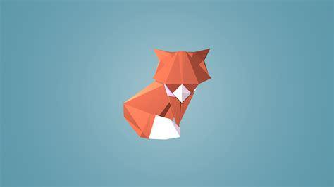 origami fox advanced origami fox wallpaper foxes