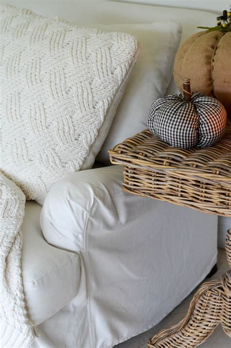 english roll arm sofa slipcover how to keep a white slipcovered sofa clean beautifully