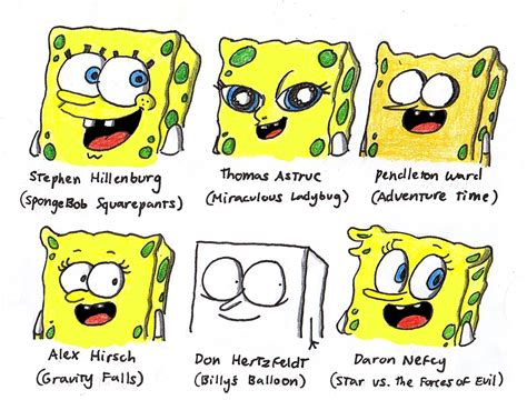 different styles of architecture spongebob in 6 different styles by finnjr63 on deviantart
