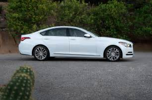2015 Hyundai Genesis Cost 2015 Hyundai Genesis Sedan Side View Lights On Photo 10