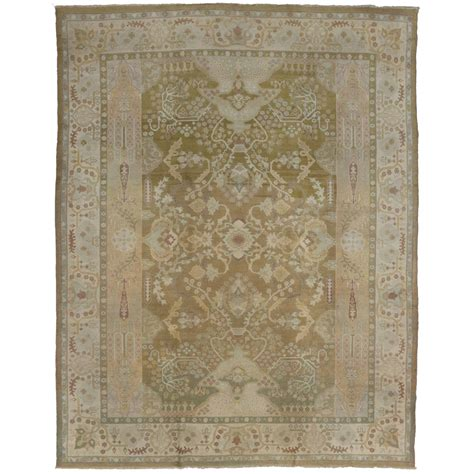 Antique Indian Agra Area Rug In Neutral Colors For Sale At Neutral Color Area Rugs