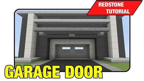 Garage Gate Designs garage door 3 high expandable door quot tutorial quot minecraft