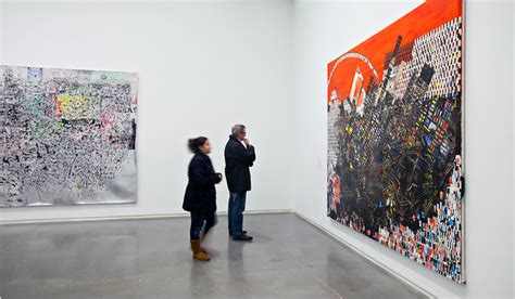 mark bradford exhibition  boston review   york times
