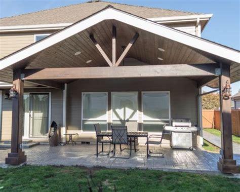 Gabled Patio Cover Home Design Ideas, Renovations & Photos