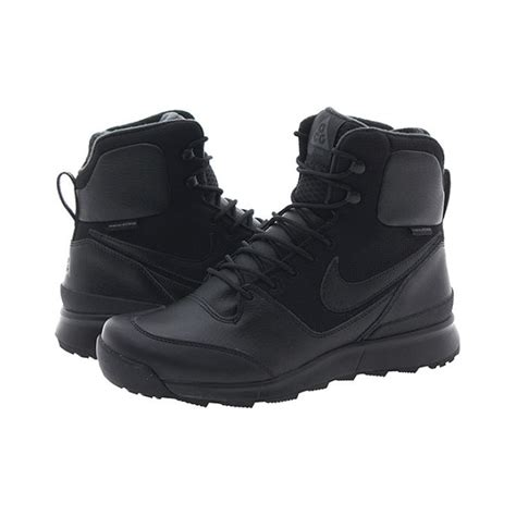 nike stasis acg mens boot nike stasis acg mens 616192 004 black outdoor boots trail