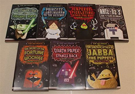 Tom Angleberger Origami Yoda - 7 book collection origami yoda series tom angleberger