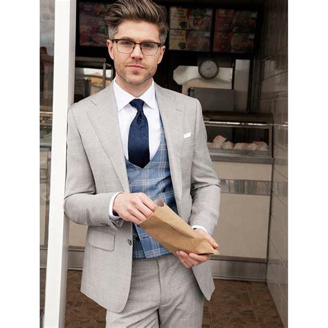 light grey 3 piece suit louis copeland the pearse light grey 3 piece suit by