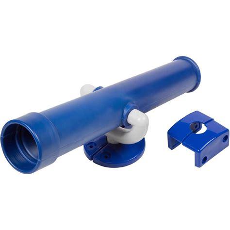 swing set telescope swing set stuff telescope blue playground accessories