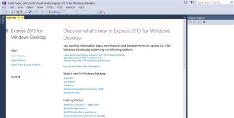 How To Install And Setup Visual Studio Express 2013 9 Steps | how to install and setup visual studio express 2013 9 steps