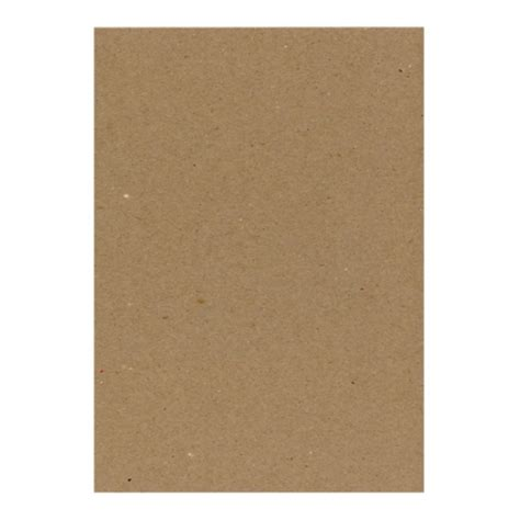 eco brown a5 230gsm recycled card pack of 100 sheets