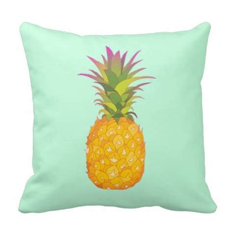Pineapple Pillows by Pineapple Mint Tropical Pillow