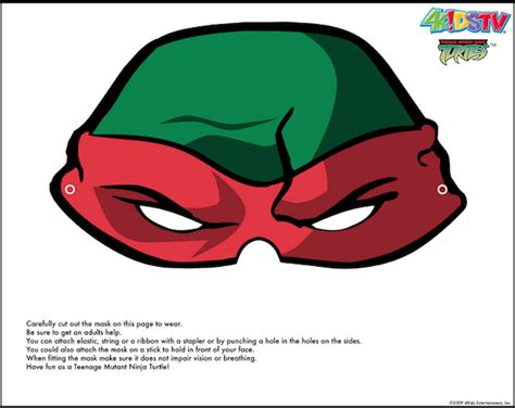 printable ninja mask free printable ninja turtle masks mutant ninja turtles