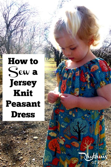 sewing jersey knit how to sew a jersey knit peasant dress dress sewing