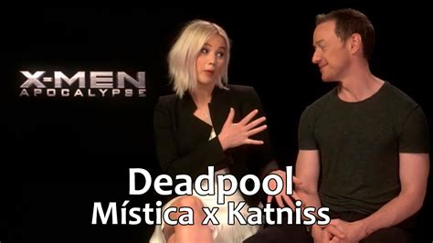 james mcavoy deadpool 2 jennifer lawrence e james mcavoy falam sobre deadpool e