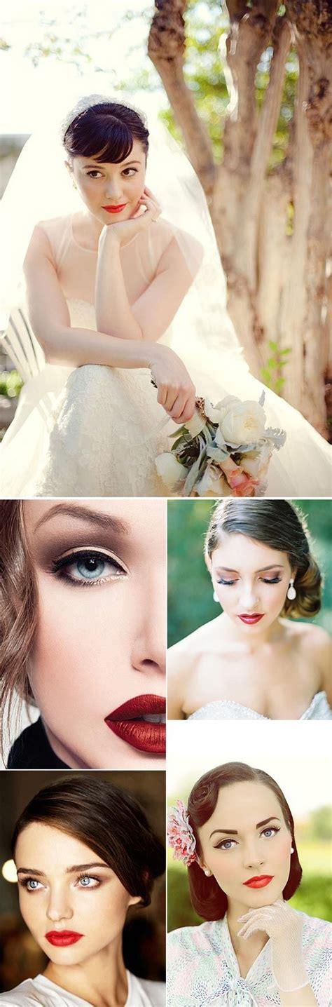 imagenes vintage maquillaje para novias con look a 241 os 50 moda x decadas pinterest