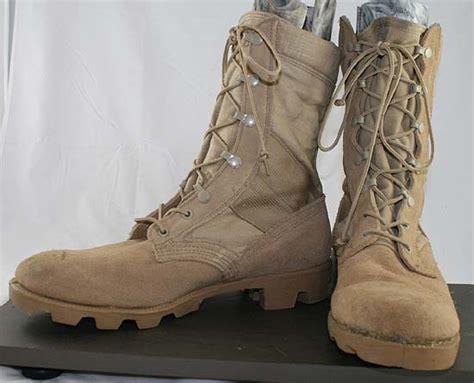 free used altama desert leather lace up combat