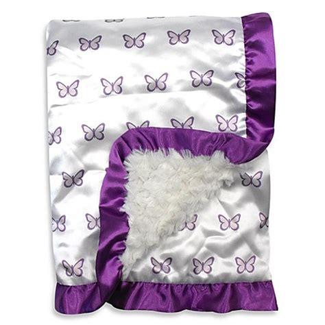 Petit Papillon Baby Sale by Petit Tresor Papillon Satin Blanket Bed Bath Beyond