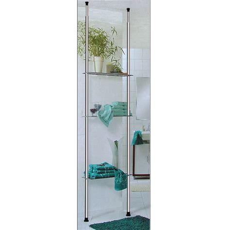 Bathroom Shelves Uk Telescopic Shelf Storage Shelving Unit Organizer Display 3 Shelves Rack Bathroom Ebay