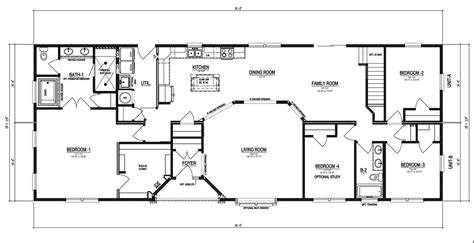 stanley floor plan the stanley ii manufactured home floor plan or modular