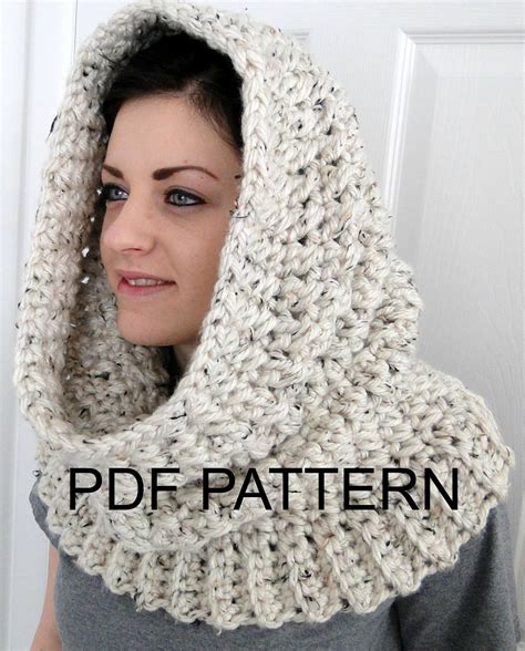 how to knit a hooded cowl hooded neck warmer cowl scarf for quot winters comfort
