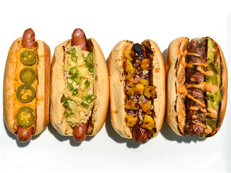 hot dog bar toppings 8 great hot dog topping ideas serious eats