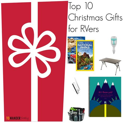 christmas gift ideas for rvers to wander freely