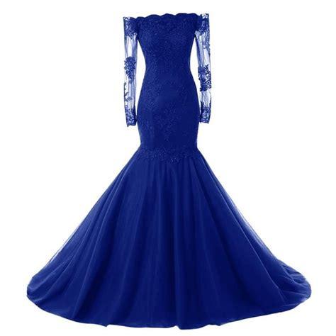 Robe Bustier Bleu Roi Mariage - robe bleu roi mariage robes de soir 233 e site photo