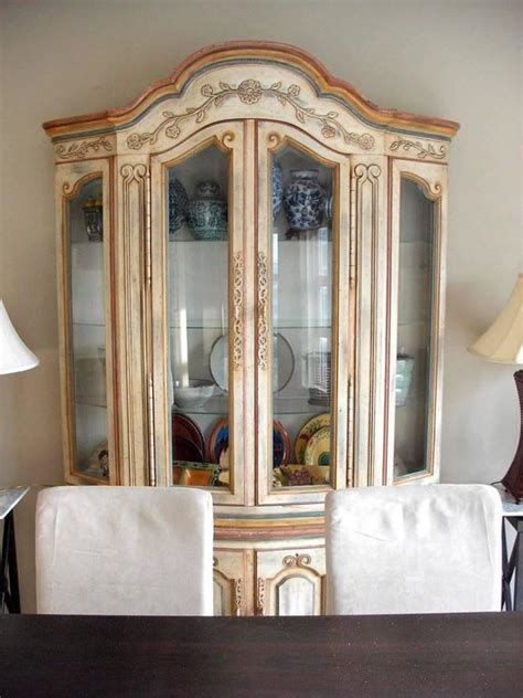 french country china cabinet for sale delightful country french painted china closet for sale at