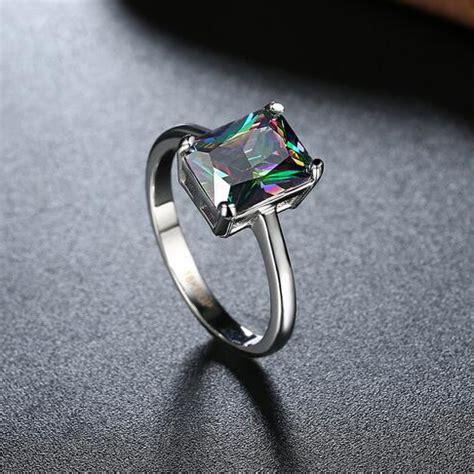Cincin Zircon cincin wanita zircon size 7 silver