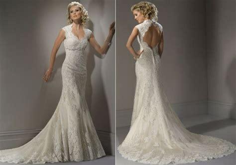 Elegant lace wedding gowns   Wedding Clan