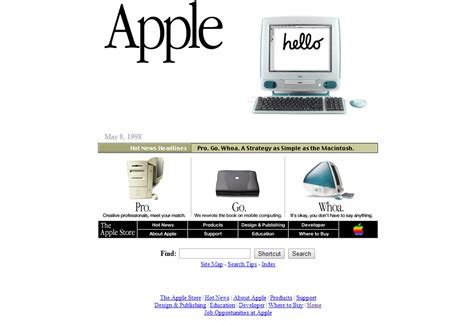 apple home network design 2014 the evolution of apple s website magicdust